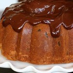Кекс с шоколадной глазурью