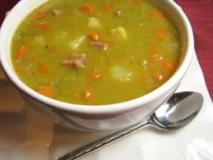 традиционный рецепт горохового супа