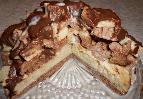 торт графские развалины со сгущенкой рецепт с фото