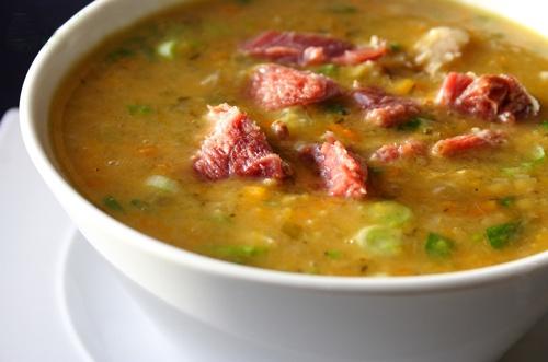 суп гороховый с болгарским перцем рецепт с фото