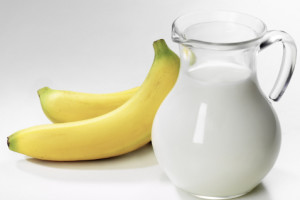 Молоко и банан