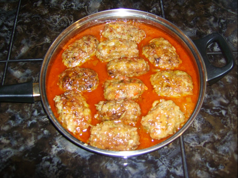 ленивые голубцы рецепт с фото пошагово на сковороде кашей