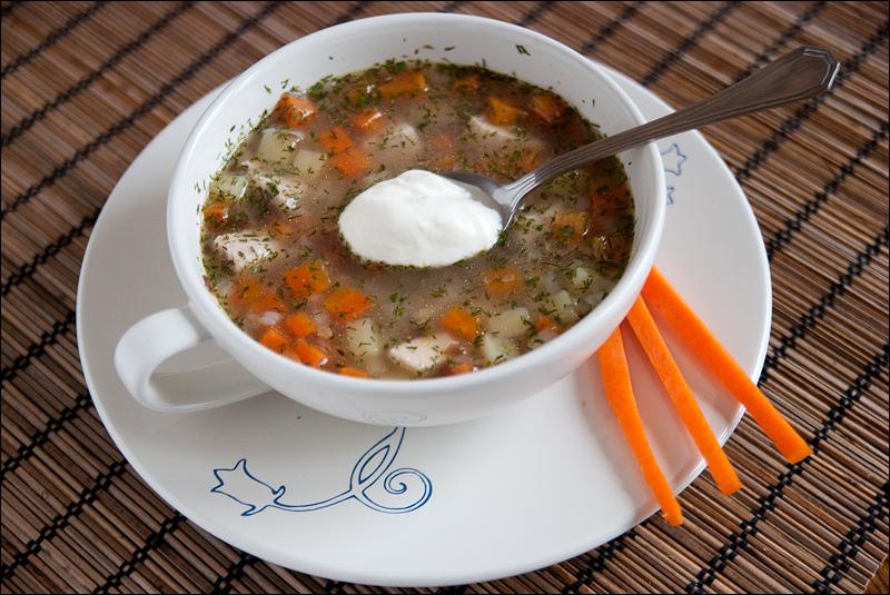 рецепт вкусного супа без мяса с макаронами