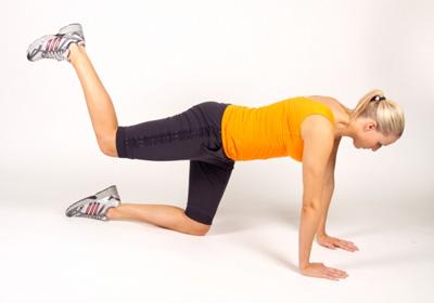 Упражнения против целлюлита на ягодицах и бедрах дома 32