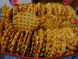 Сырные вафли