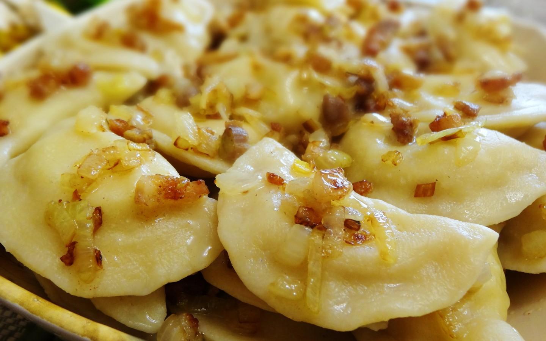 вареники с грибами и картошкой