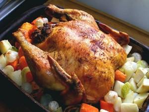 Курица после духовки