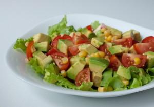 Авокадо в салате