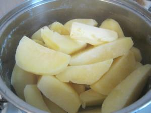 Картошка на вареники